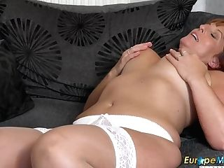 Europemature Beau Diamonds Inviting Solo Have Fun