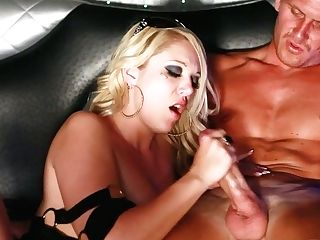 Fabulous And Sexy Escort Whore Shay Hendrix Gives A Good Bj In The Limo