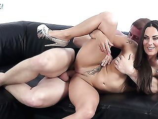 Steamy Couch Fuck With Indeed Versatile Czech Cockslut Mea Melone