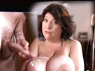 Caroline Quentin Jizz On Big Tits
