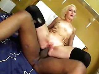 Attractive Blonde Get Plowed By A Slum