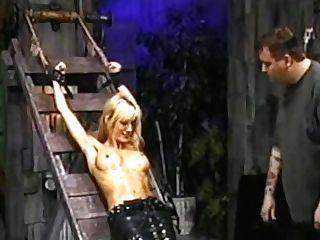 Skinny Tasha Welch Opening Up On Rack And Displaying Ribs