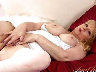 Finest Superstar In Best Stockings, Blonde Xxx Movie