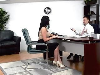 Best Lawyer In Town Needs Some Chesty Assfuck Persuading