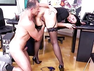 Crazy Superstar Kira Queen In Exotic Brazilian, Matures Adult Scene