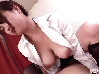 Jav Asian Office Bitch Gets Her Cunt Fucked With Internal Cumshot En