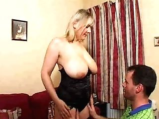Matures Blonde Supah Big Saggy Tits
