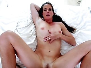 Cougar Fucked In Missionary By Her Own Step Sonnie