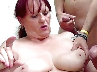 Chubby Matures Fountains A Lot Of Schlong In Her Old Crevices
