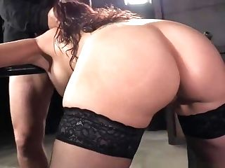 Bondage & Discipline Obedient Cougar With Bigtits Gets Fucked