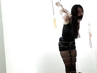 Uncommon Japanese Restrain Bondage With Gonzo Gag
