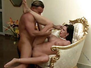 Gold Digger Larissa Taking Care Of Her Advisor