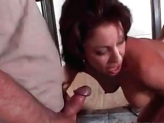 Hotwife Cougar Drilled By Hired Big Black Cock Old Hubby Luvs Watchin