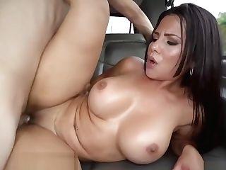 Rose Monroe Dirty Dances On The Car