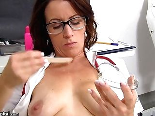 Exotic Romp Clip Mummy Greatest , Its Amazing With Sperm Hospital