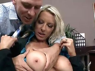 Big Jugged Office Emma Starr Is A Sexy Lady That