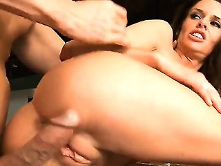 Johnny Sins Plays Hide The Salamy With Black-haired Veronica Avluv With Massive Hooters And Trimmed Muff  : Pornalized.com Erotic Flick