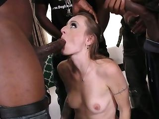 Amazingly Horny Natasha Starr Is A Lusty Grind Admirer Of Interracial Fuck