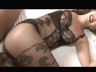 Horny Mummy In Bodystocking Screwed And Creamed