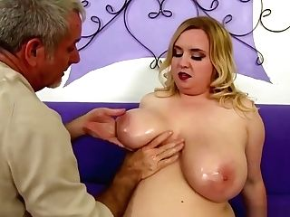Humungous Bumpers And Fat Caboose Gal Gets Fucked