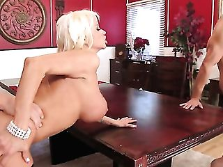 Sexy Cougars With Big Tits Casey Cumz And Nikita Von James Are On Fire