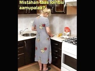Slideshow With Finnish Captions: Mom Lena Trio