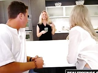 Reality Kings - Sneaky Fuck-a-thon - One Hot Cougar - Brandi Love , Jessy Jones