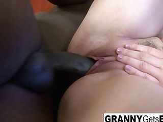 The Finest Grannies Getting Big Black Cock - Puba