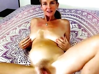 Hairy Matures Cums And Squirts Using Thumbs