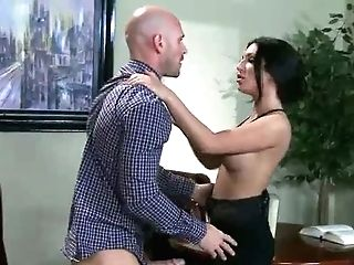 Four-eyed Stud Johnny Sins Ultimately Makes His Wish Of Fucking