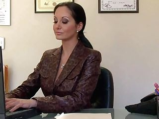 Ava Addams Is A Big Titted Assistant Who Spends Free