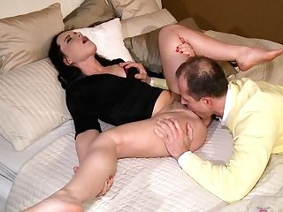 Fabulous Sex Industry Stars Wendy Taylor, George, Shara Jones In Amazing Black-haired, Puny Tits Adult Scene